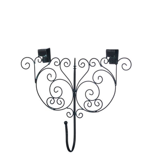 Scroll Wall Wreath Hanger by Fleur De Lis Living