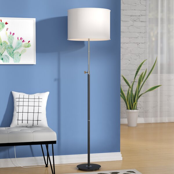 Ulises 67 Floor Lamp by Mercury Row
