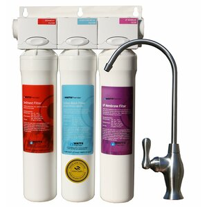 3-Stage UF-3 Filter Pure Under-sink Filtration System by Watts Premier