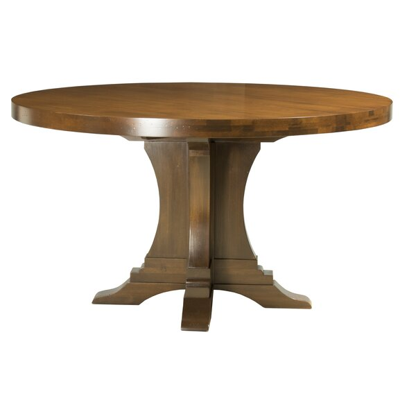 Geneve Maple Extendable Solid Wood Dining Table by Darby Home Co
