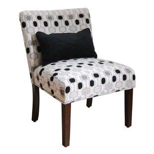 Locust Grove Fabric Slipper Chair Winston Porter
