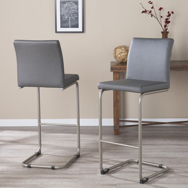 Hagan Bar Stool (Set of 2) by Orren Ellis