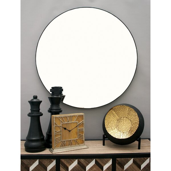 Kittel Wood Wall Mirror by Zipcode Design