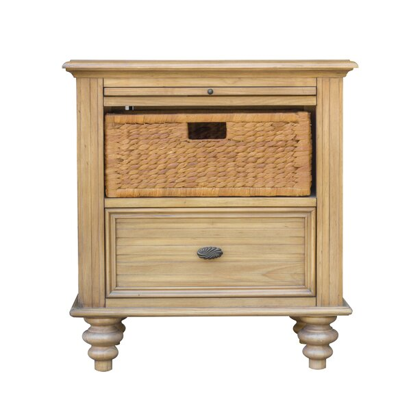 Kinsey 1 Drawer Nightstand by August Grove