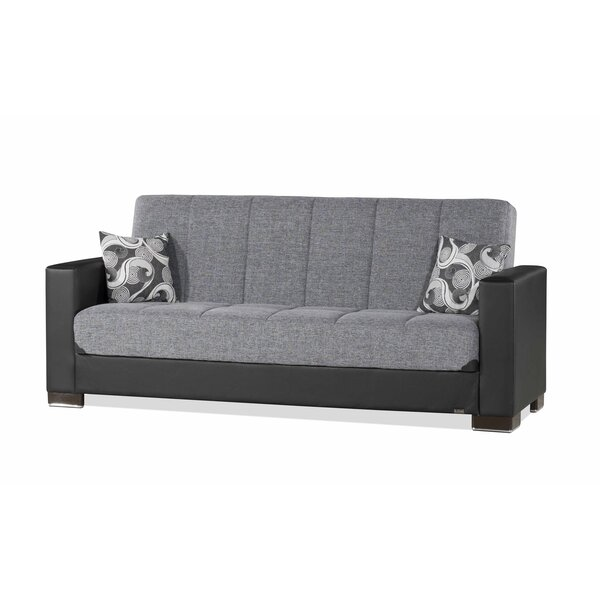 Hofstra 84 Inches Square Arms Sleeper By Brayden Studio