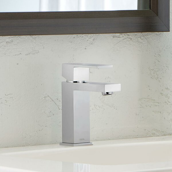 Ara Single Hole Bathroom Faucet with Drain Assembl