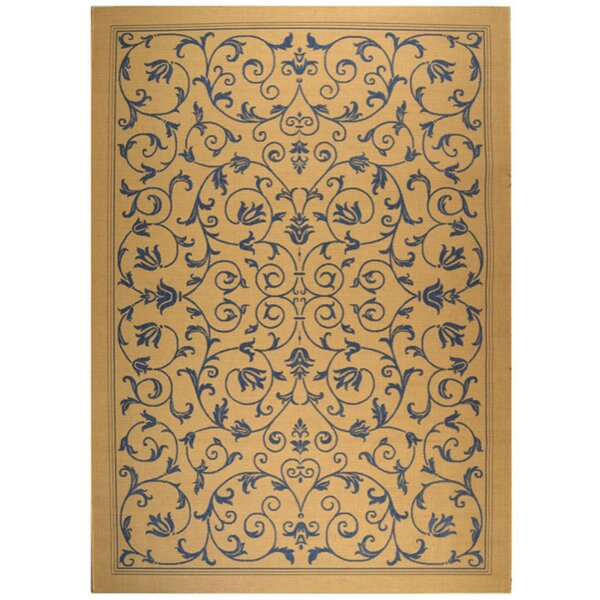 Bacall All Over Vine Indoor/Outdoor Area Rug by Alcott Hill