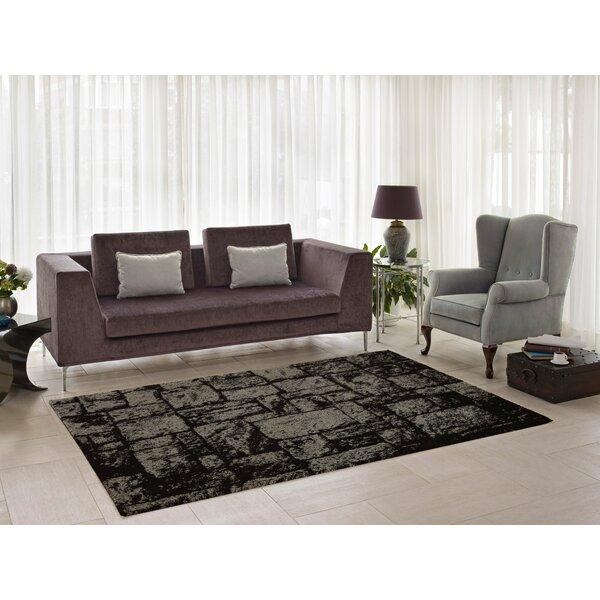 Nehemiah Patch Brown/Beige Area Rug by Williston Forge