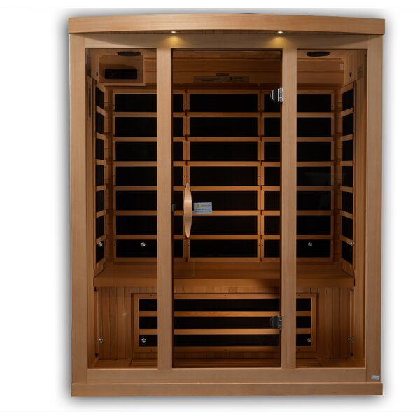 Reserve Edition 3 Person FAR Infrared Sauna by Golden Designs
