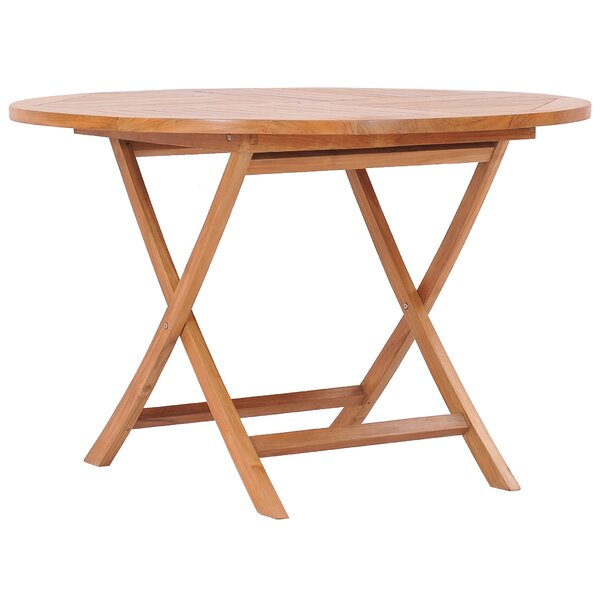 Paradiso Folding Bistro Table by Breakwater Bay