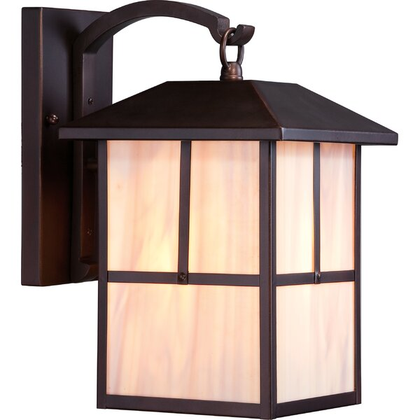 Raci 1-Light Outdoor Wall Lantern by Loon Peak