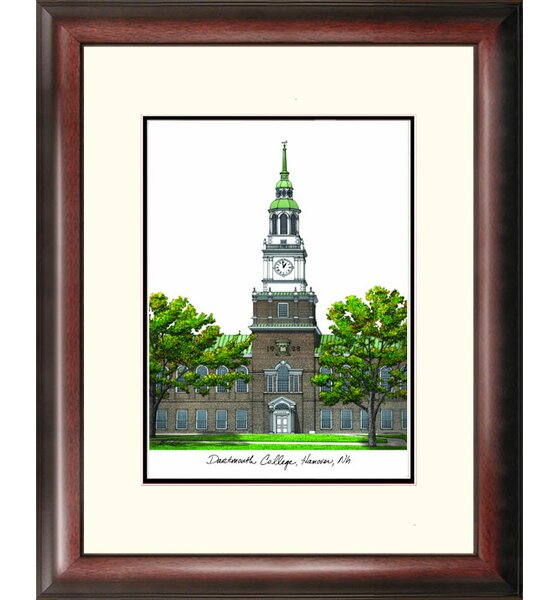 Alumnus Lithograph Picture Frame by Campus Images