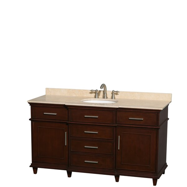 Berkeley 60 Single Bathroom Vanity Set by Wyndham Collection