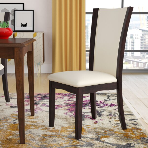 Folmar Side Upholstered Dining Chair (Set of 2) by Latitude Run
