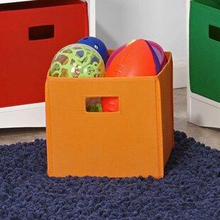 Save & Orange Storage Boxes Bins Baskets u0026 Buckets Youu0027ll Love | Wayfair