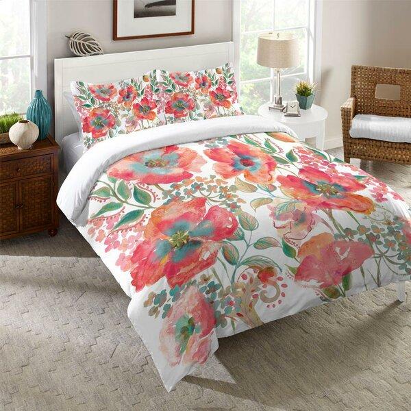 Kessinger Bohemian Poppies Single Comforter