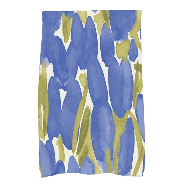Sunset Tulip Floral Hand Towel by Winston Porter