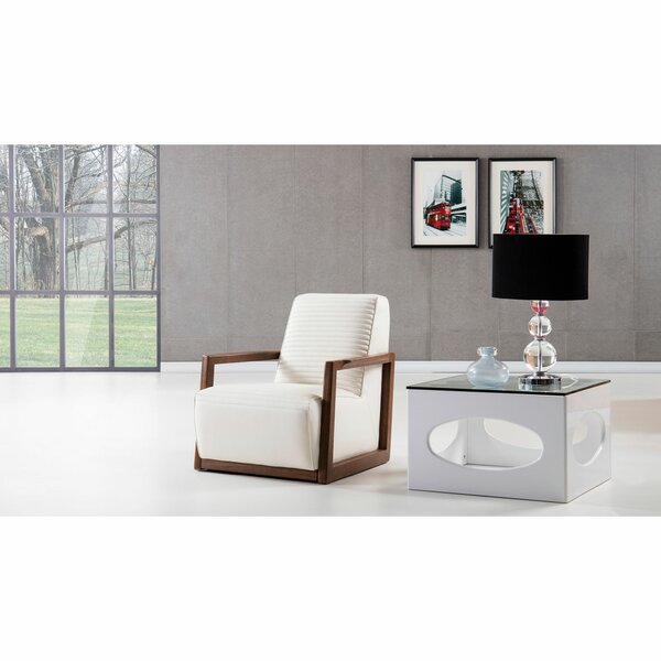 Rubalcava Wooden Framed Armchair by Brayden Studio