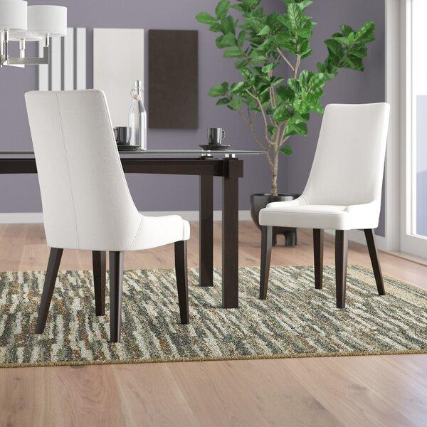 Agnes Berner Upholstered Dining Chair (Set of 2) by Brayden Studio
