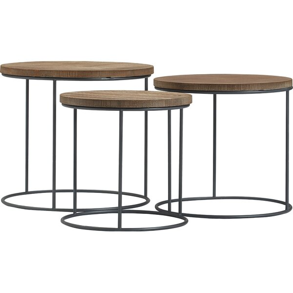 Berkshire 3 Piece Nesting Tables by Tommy Hilfiger