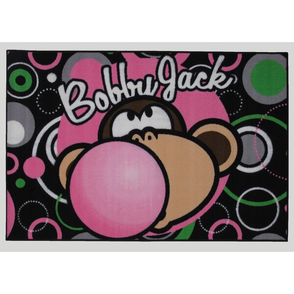 Bobby Jack Bubble Gum Area Rug by Fun Rugs