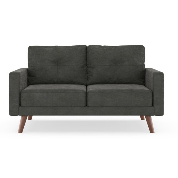Courtney Microsuede Loveseat by Foundry Select
