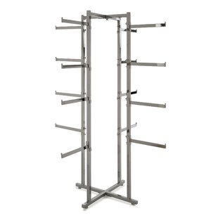 Compare prices 24 W Folding Lingerie Tower By Econoco