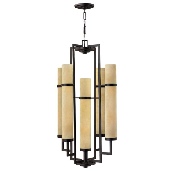 Yosef 10-Light Shaded Tiered Chandelier By Bloomsbury Market