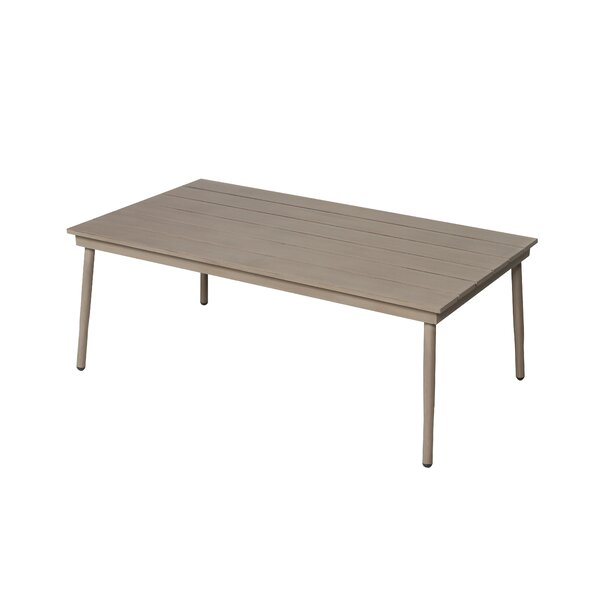 Pelchat Metal Coffee Table by George Oliver