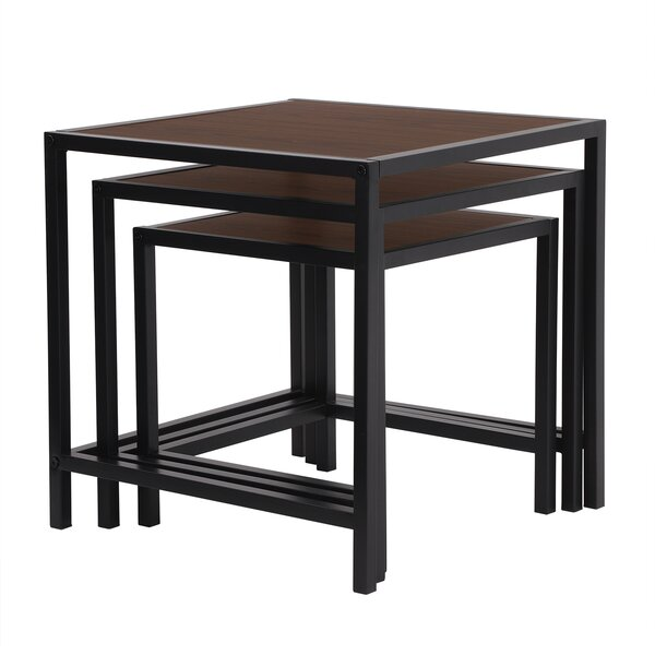 Lizeth 3 Piece Nesting Tables (Set of 3) by Red Barrel Studio