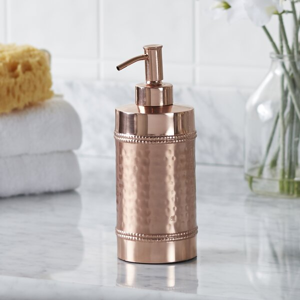Hammered Copper Lotion Dispenser by Birch Lane™