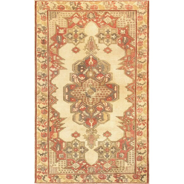 Kysery Hand-Knotted Ivory Area Rug by Pasargad