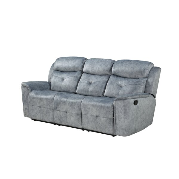 Latest Style Zahir Reclining Sofa by Red Barrel Studio by Red Barrel Studio
