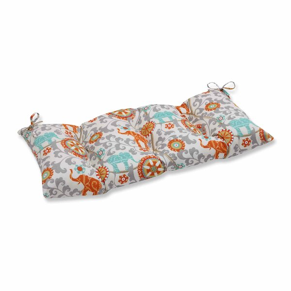 Menagerie Indoor/Outdoor Bench Cushion by Pillow Perfect