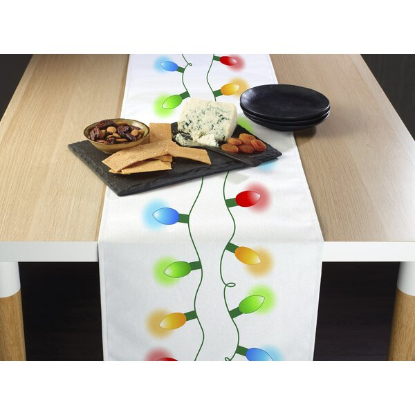 Englishcombe Christmas Lights Border Table Runner by The Holiday Aisle