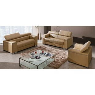 Silver Configurable Living Room Set