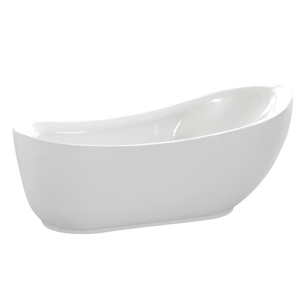 Talyah Series 71'' x 30'' Freestanding Soaking Bathtub by ANZZI