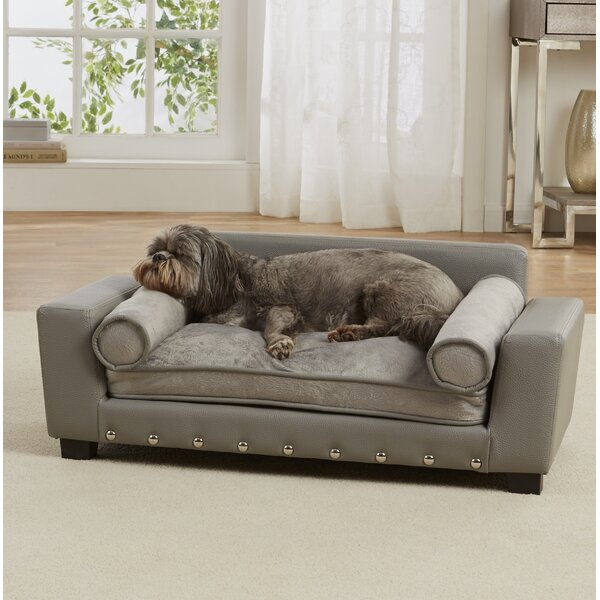 Corrine Dog Sofa with Cushion by Archie & Oscar