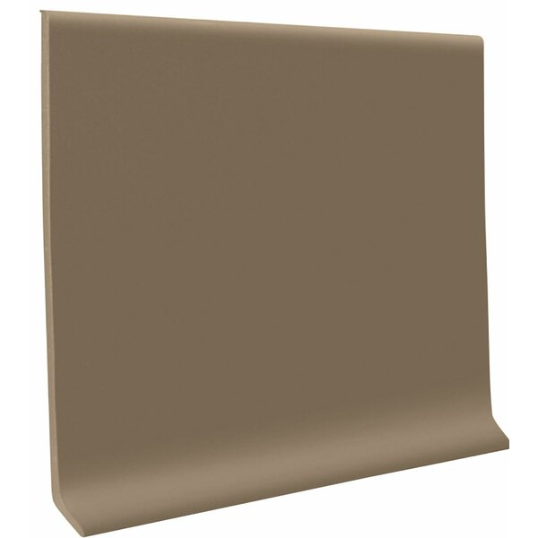 0.13 x 48 x 6 Cove Molding in Fawn (Set of 30) by ROPPE