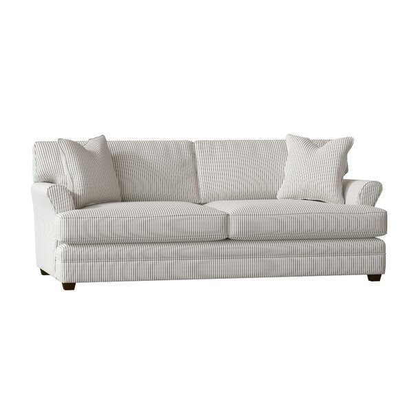 Living Your Way Flare Arm Studio Sofa By Wayfair Custom Upholstery™