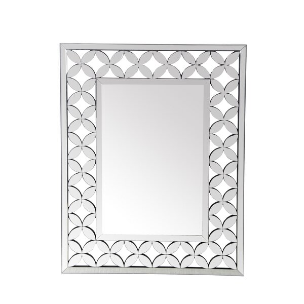 Rectangle Bevel Wall Mirror by Latitude Run