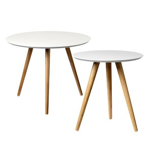 2 Piece End Table Set by Bloomingville