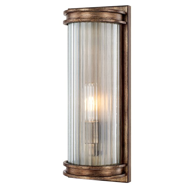 Friedlander 1-Light Flush Mount by Red Barrel Studio