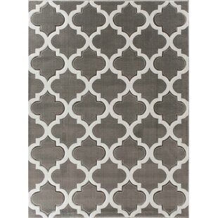 Affordable Kempson Gray Area Rug By House of Hampton