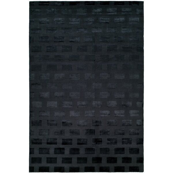 Bhatt Hand-Woven Blue Area Rug by Meridian Rugmakers