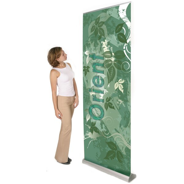 Multiple Size Orient Banner Stand by Exhibitor's H