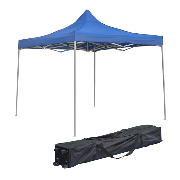 12 Ft. W x 12 Ft. D Steel Pop-Up Canopy by Trademark Innovations