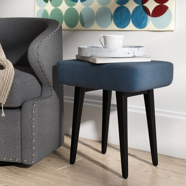 Nash Upholstered Vanity Stool by George Oliver