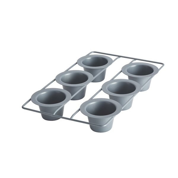 Advanced 6 Cup Non-Stick Popover Pan by Anolon