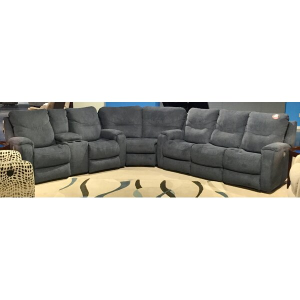 Royal Symmetrical Flush Reclining Sectional By Southern Motion